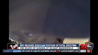 BPD releases bodycam footage of officer involved shooting