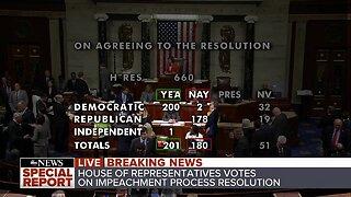 House passes impeachment process resolution