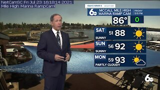 Scott Dorval's Idaho News 6 Forecast - Friday 7/23/21