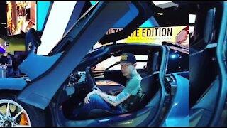 Celebrity cars on display at Barrett-Jackson