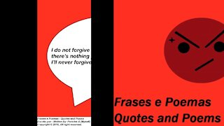 I do not forgive your betrayal, no turning back! [Quotes and Poems]