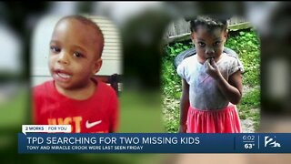 TPD, Searching for Two Missing Children