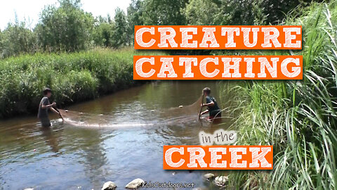 S2:E24 Kids Outdoors goes Creature Catching in the Creek