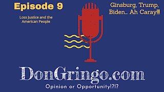 Ginsburg, Trump, Biden.... Ah Caray!!!
