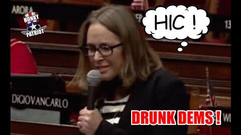 Connecticut Democrat Lawmakers Boozing in Legislative Office Bldg., Give Drunk Floor Speeches !