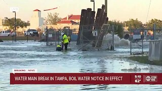 Water boil notice issued for Tampa residents
