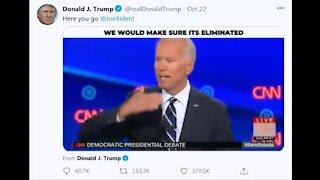 Biden - Statements about ending fraking