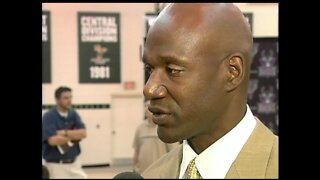 Hometown boy Terry Porter (August 6th, 2003)