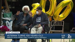 Veteran turns 100-years-old, American Legion, friends, family celebrate Gerald Greenfield