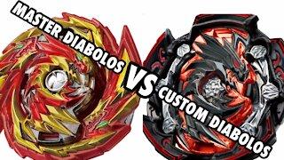 Master Diabolos vs Diabolos | Beyblade Burst GT