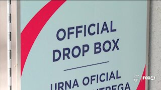 Collier County keeping 24-hour ballot drop box against state guidance