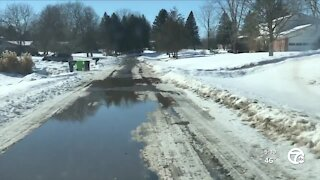 Pothole problems in metro Detroit