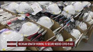 Michigan Senator working to secure needed COVID-19 aid