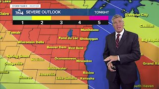Severe Thunderstorm Watch issued for SE Wisconsin