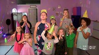 Brandon children celebrate Noon Year's Eve