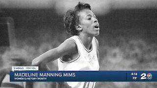 Women's History Month: Tulsa native Madeline Manning