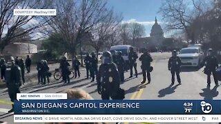 San Diegan's Capitol Experience