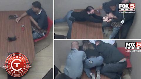 Reacting to Interrogation Room Gun Grab