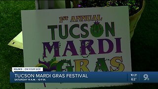1st annual Tucson Mardi Gras Festival kicks off