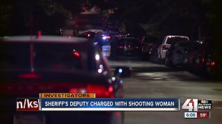 Jackson County Sheriff's deputy charged with shooting woman in back