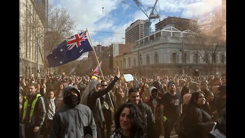 ANTI-LOCKDOWN PROTESTS IN AUSTRALIA