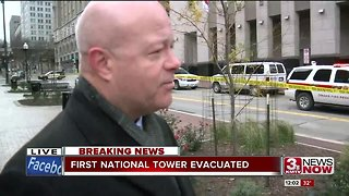 First National Tower evacuated