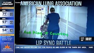 Pediatric Pulmonary Specialist lip-syncs to raise money for the American Lung Association