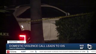 Domestic violence call leads to officer-involved shooting