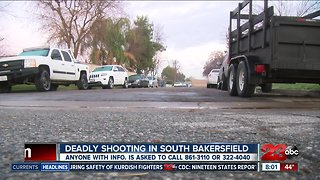 Deadly shooting in South Bakersfield