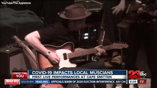 Local band performs for first time since COVID-19 hit