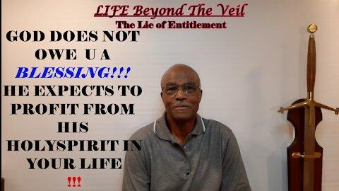 THE ENTITLEMENT LIE!!