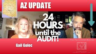 24 HOURS until AZ ELECTION Ballot AUDIT! UPDATE!