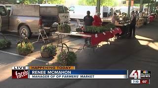 Overland Park Farmers' Market now open on Wednesdays