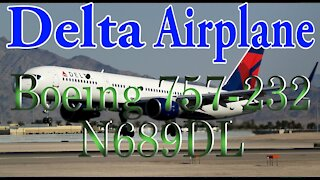 Delta Plane N689DL Boeing 757-232