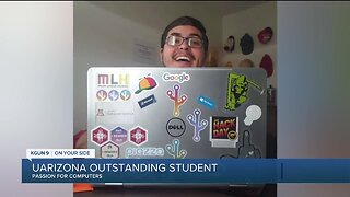 UArizona senior's passion for computer science, after growing up without computers