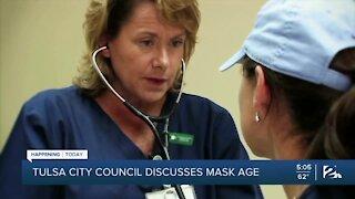 Tulsa City Council Discusses Mask Age