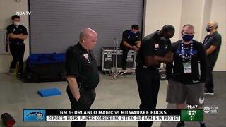 NBA players boycott games in wake of Jacob Blake shooting, Lions cancel practice