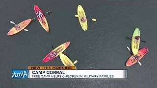 Camp for military kids helps children through difficult times