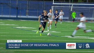 American Heritage soccer playing host to regional finals