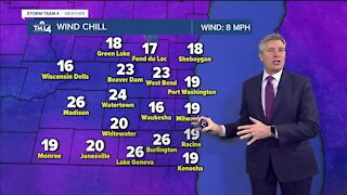 Tuesday night will be the coldest in a month