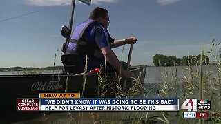 Flooding could leave Levasy under water for weeks