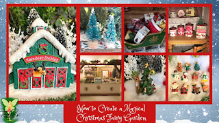 How to Create a Magical Christmas Fairy Garden