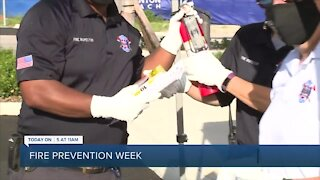 Boynton Beach Fire Rescue gives out fire safety equipment