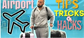 AIRPORT Tips and Tricks - Flying Travel Hacks