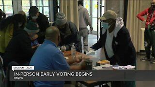 More than 500 people have already early voted in Racine