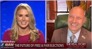 The Real Story - OAN Election Integrity with Sen. Doug Mastriano