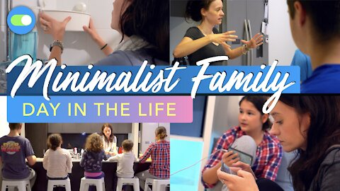MINIMALIST FAMILY DITL | Day in the Life 🌦