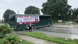 Urban League of Palm Beach County driving voters to polling locations