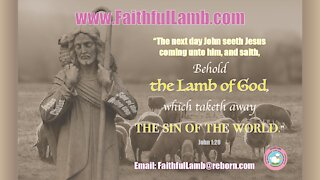 """""""JESUS IS ANGERED"""" Are you Lukewarm? God or Hell?CHRISTian Audio Blog from Faithful Lamb"""