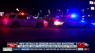 New details in officer-involved shooting near Outlets at Tejon